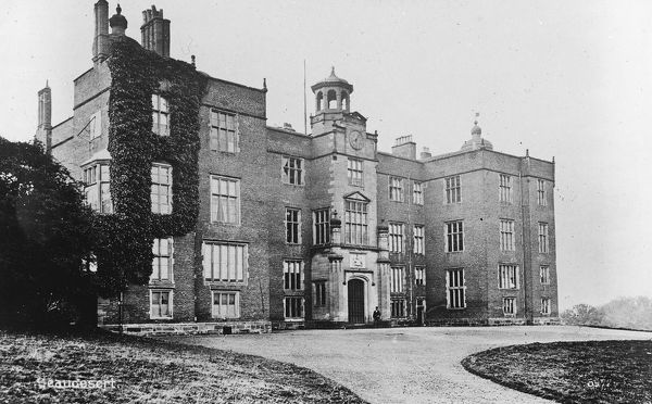 Beaudesert Hall, stately home on the southern edge of Cannock Chase in Staffordshire