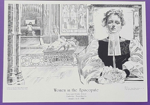 CHARLES DANA GIBSON Art PRINT _ Episcopal Church _ Gibson Girl _ eBay